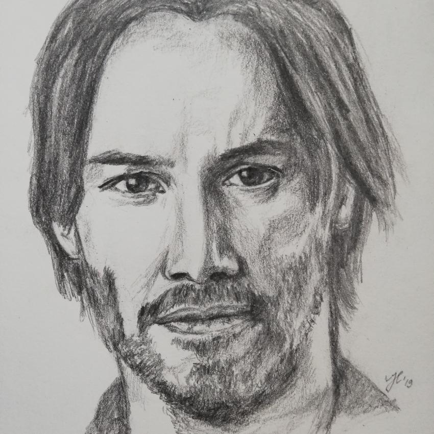 Keanu Reeves by Siersils